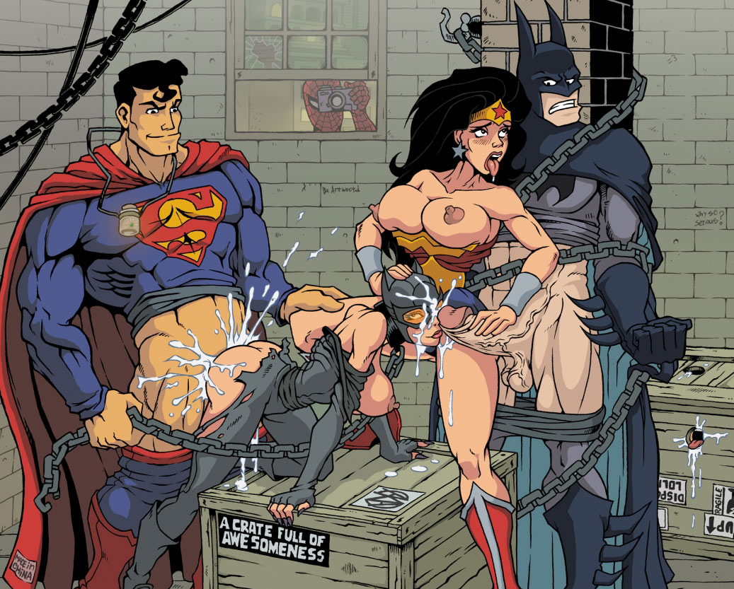 Super heros porn Didn't think