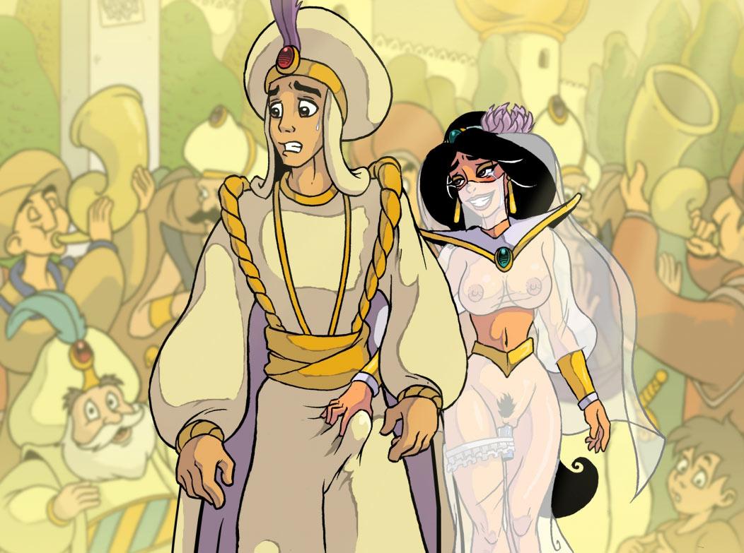 Princess Jasmine porn